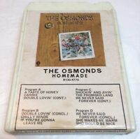 The Osmonds: Homemade 8-Track - Tested & Works