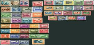 GUATEMALA Airmail  Postage Stamp Collection1935-37 Latin America MLH Used