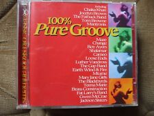 VA -100% Pure Groove Double CD..38 Classic Old Skool Anthems.Both Discs VG+C