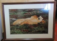 "Thomas Mangelsen ""Naptime on the Tundra"" Framed Print 20x30"