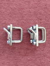1 Paar Zurrösen für Bootstrailer,Verzurröse für Rahmenhöhe 80 mm Rahmenbr.60 mm