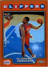 2008-09 Topps Chrome Refractors Orange #209 DeAndre Jordan /499 - NM-MT