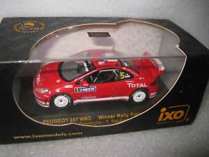 IXO 1:43 WRC PEUGEOT 307 #5 WINNER RALLY FINLAND 2004 GRONHOLM RAUTIAINEN RAM152