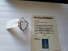 CHARMED Prop Heart Shaped Basket TV series set COA Piper Prue Phoebe Halliwell🎗