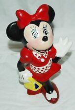 Minnie Mouse Vintage Ceramic Figure Statue Disney Mickey Hand Painted?