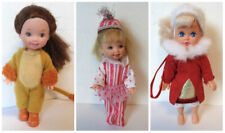 KELLY DOLLS Lot of 3 dolls Lion Circus Peppermint Nutcracker Kid Kore Xmas