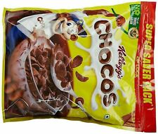 Kellogg's Chocos Chocolate Flavoured Whole Grain Cereal Made From Wheat ,1.2kg,