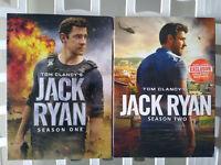 Tom Clancy's Jack Ryan Season 1 & 2 (6 Disc Set,DVD 2019) US Brand New