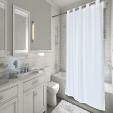 Carnation Home EZ-ON® Waffle Weave Polyester Shower Curtain in White