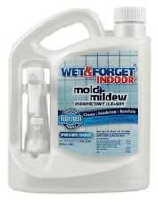 WET AND FORGET 802064 Indoor Mold and Mildew Disinfectant, 64oz