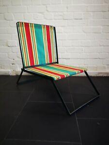 Vintage Folding Fishing Camping/Glamping Picnic Chair 1940's