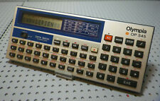 Calculatrice Data Bank Computer Olympia OP 545 - Fonctionne