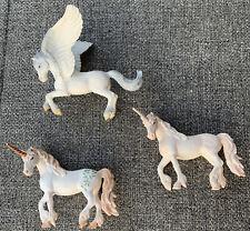 Schleich UNICORN Fantasy Horse Baby Figure Retired Bayala Lot Of 3
