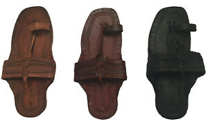 HIPPIE WATER BUFFALO TOE STRAP JESUS SANDALS -100% LEATHER-UNISEX-MEN AND WOMEN