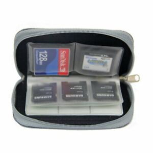 SD SIM CF Card Holder Carrying Bag 22-Slot Memory Card Case  for Micro SDHCUK