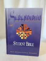 Serendipity Student Bible New International Version NIV Hardcover Zondervan 1997