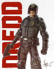 Judge Dredd Poster - Paul Shipper