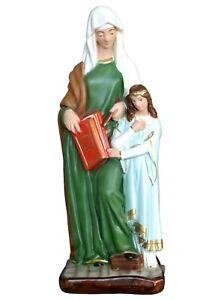 Statua Sant' Anna cm 40 in resina -MADE IN ITALY-
