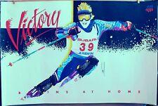 1991 US Olympic Ski Team VICTORY Poster ASPEN COLORADO -SUBARU Official Sponsor