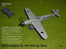 Messerschmitt Bf 109 V55 (H V55)        1/72 Bird Models UMbausatz/conversion