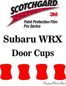 3M Scotchgard Paint Protection Film Pro Series Fits 2018 2019 2020 Subaru WRX