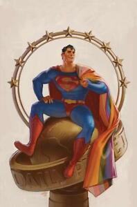SUPERMAN #32 COVER C TALASKI PRIDE VARIANT DC COMICS 2021 EB171