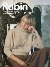 Robin Mohair Knitting Patterns Supplies