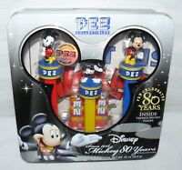 Pez Dispenser Mickey Mouse 2007 Limited Edition Disney 80 Years Candy Tin