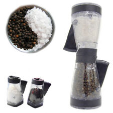 Salt & Pepper Duet Grinder Kitchenware dining table Pre-Filled Crusher Apollo