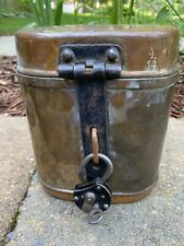Antique Swedish Cavalry Copper Mess Kit
