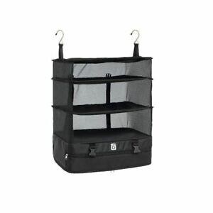 Portable Storage Bag Hanging Organizer Wardrobe Clothes Storage Rack Suitcase Sh