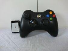 Oficial Microsoft Xbox 360 Control Inalámbrico Negro