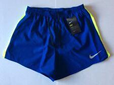 """Mens NIKE DRY Running Shorts  Dri Fit Size Medium (4"""")"""