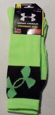Under Armour Men's Large Performance Crew Socks - MSRP $14.99       (UAS)