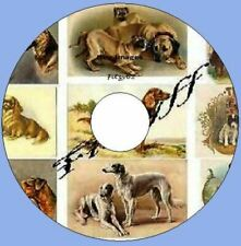700 vintage Victorian Dog images & Pictures CD Rom