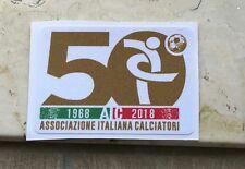 Toppa Patch Lega Calcio Serie A Aic 50 Anni Anniversario