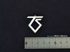 Twisted Sister Necklace stainless steel Pendant merch logo symbol