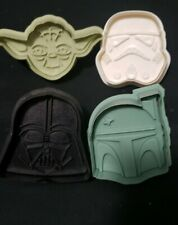 Star Wars Cookie Cutters Set Of 4 Williams Sonoma Used.