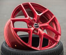 19 Zoll Borbet Y Alu Felgen et50 5x112 candy rot ABE für A3 Golf 5 6 7 GTI R 32