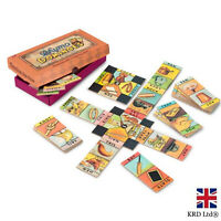 RHYMO DOMINOES TOY TRADITIONAL CLASSIC KIDS FUN FAMILY GAME CHRISTMAS GIFT UK