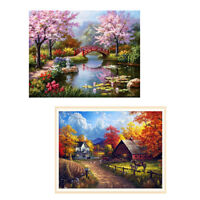 Full Drill Landscape 5D Diamond Painting Embroidery Cross Stitch DIY Room Decor
