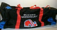 Vintage travel way 36in Nhl hockey QUEBEC NORDIQUES EQUIPMENT BAG Travelway 1994