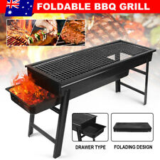 Foldable BBQ Charcoal Grill Protable Outdoor Hibachi Camping Barbecue Picnic AU