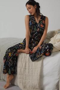 NEW Anthropologie  Florence Balducci Lazy Days Jumpsuit SIZE M