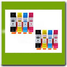 8PK Compatible HP 564XL Ink Cartridge Combo Set BK/C/M  Photosmart 7510 6350