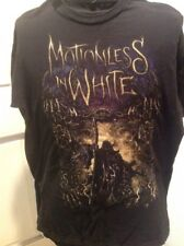 Motionless in White Reaper Band Shirt Black Size Large