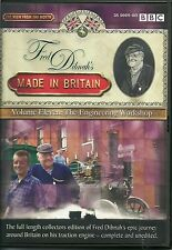 FRED DIBNAH'S MADE IN BRITAIN VOLUME ELEVEN. 11. THE ENGINEERING WORKSHOP DVD