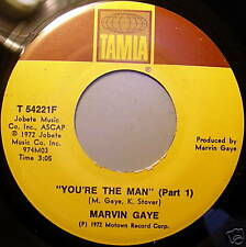 MARVIN GAYE 45 YOU'RE THE MAN Pt 1&2 TAMLA RECORDS MINT