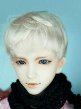 "WG56D23 5-6"" Blonde short wig for  Lati Yellow BJD Super Dollfie Doll"