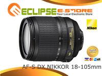Brand New Nikon AF-S DX NIKKOR 18-105mm f/3.5-5.6G ED VR Lens